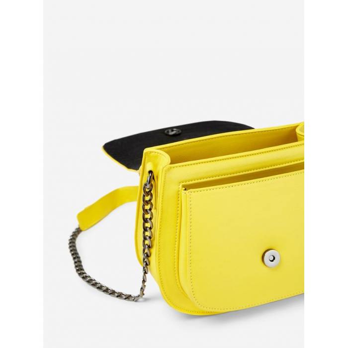 PIECES LEMON CHROME BORSA DONNA CON MANICI 17093729