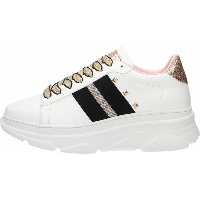 GOLD&GOLD SCARPA DONNA SNEAKERS ROSA GB48