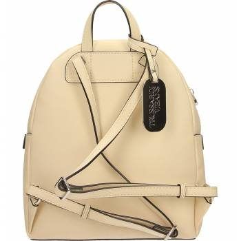 TRUSSARDI JEANS W030 CREAM WITH LOVE BACKPACK BAG BORSA DONNA ZAINO 75B00710